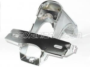 HONDA DAX ST50 ST70 CT70 NEW FENDER FRONT /& BRACKET CHROME