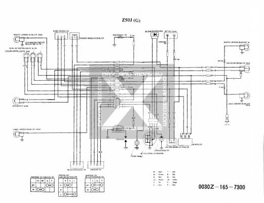 cy50 a wiring diagram wiring diagram honda z50j 6 volt  wiring diagram honda z50j 6 volt